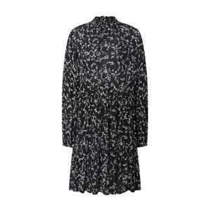 Kaffe Šaty 'Amber'  krémová / černá