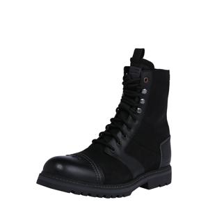 G-Star RAW Šněrovací boty  černá