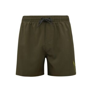 Nike Swim Sportovní plavky 'NIKE PERFORATED SWOOSH'  olivová