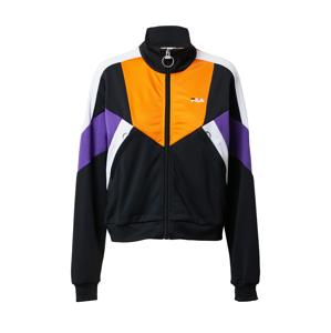 FILA Přechodná bunda 'BECCA'  oranžová / černá / bílá / fialkově modrá