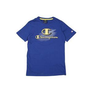 Champion Authentic Athletic Apparel Tričko  modrá / žlutá