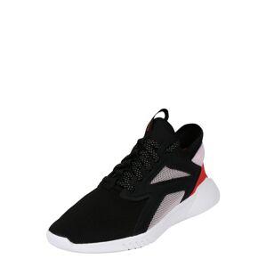 REEBOK Sportovní boty  černá / bílá / červená