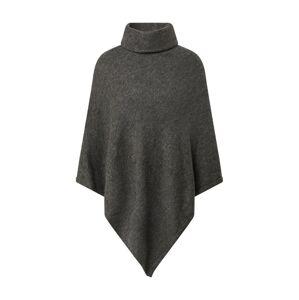 ONLY Pláštěnka 'ONLELONA  L/S PONCHO EX KNT'  šedý melír / tmavě šedá
