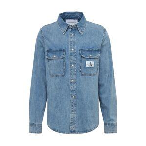 Calvin Klein Jeans Košile 'ARCHIVE'  modrá džínovina