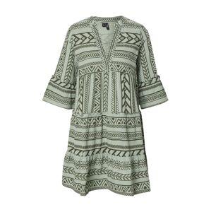 VERO MODA Letní šaty 'DICTHE'  olivová / světle zelená