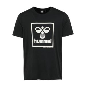 Hummel Tričko  černá / bílá