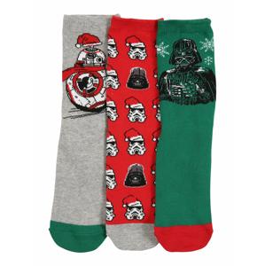 GAP Ponožky  šedá / červená / zelená / bílá / černá