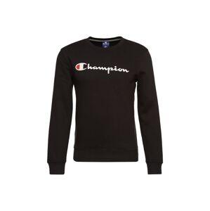 Champion Authentic Athletic Apparel Mikina 'Crewneck Sweatshirt'  černá