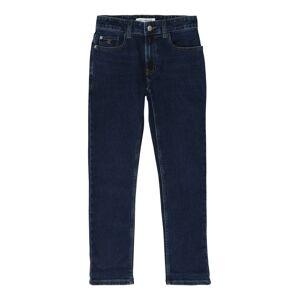 Calvin Klein Jeans Džíny 'SLIM ESSENTIAL DARK'  modrá džínovina