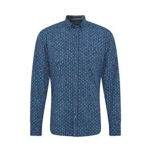 CAMEL ACTIVE Košile  noční modrá / modrá