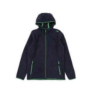 CMP Sportovní bunda  modrá / svítivě zelená