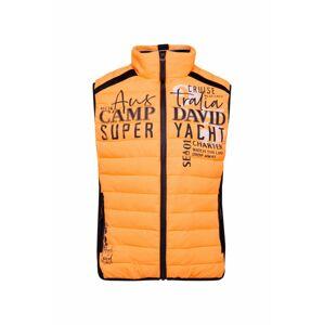 CAMP DAVID Vesta  oranžová / mix barev