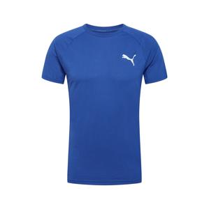 PUMA Funkční tričko 'EVOSTRIPE'  modrá / bílá