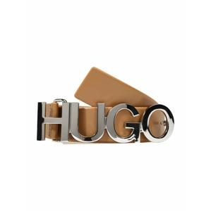 HUGO Opasek 'Zula'  světle béžová / stříbrná