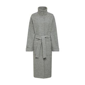 EDITED Přechodný kabát 'Yona'  šedá / šedý melír