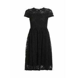 faina Koktejlové šaty  černá