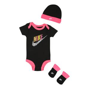 Nike Sportswear Sada  černá / pink / žlutá / bílá