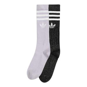 ADIDAS ORIGINALS Ponožky  fialová / černá / bílá