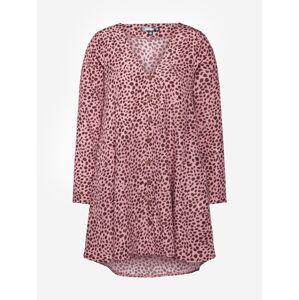 Missguided Letní šaty  růžová / nažloutlá / pink