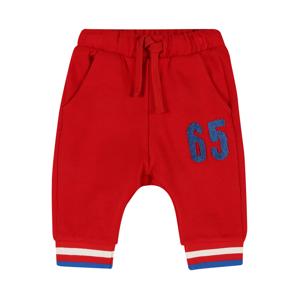 UNITED COLORS OF BENETTON Kalhoty  červená / modrá / bílá