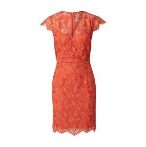 Morgan Pouzdrové šaty 'Kleid'  oranžově červená