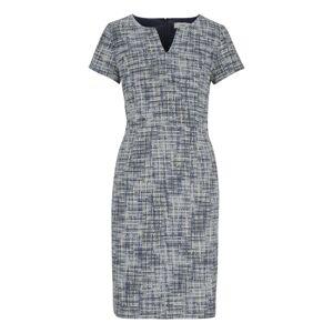 heine Pouzdrové šaty  šedý melír / mix barev