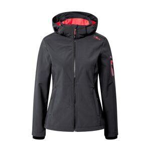 CMP Outdoorová bunda  červená / antracitová
