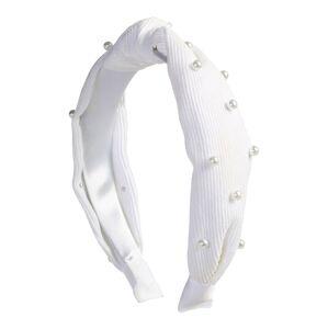 ABOUT YOU Šperky do vlasů 'Kimberly'  perlově bílá
