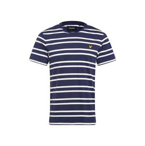 Lyle & Scott Tričko  žlutá / námořnická modř / bílá
