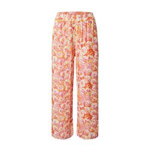 Zwillingsherz Kalhoty 'Milla'  bílá / pitaya / světle růžová / žlutá / jasně oranžová