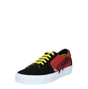 VANS Tenisky 'UA SK8-Low'  černá / červená / žlutá