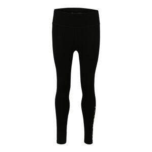 DKNY Sport Sportovní kalhoty 'HIGH WAIST 78 LENGTH LOGO LEGGING'  černá