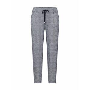 EDC BY ESPRIT Kalhoty se sklady v pase  šedá