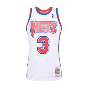 Mitchell & Ness Tričko 'NBA  NJ NETS 1992-93 D. PETROVIC'  bílá / červená / modrá