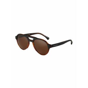 Emporio Armani Sluneční brýle  hnědá / černá