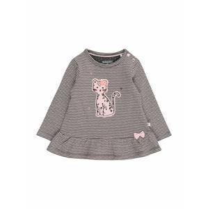 STACCATO Tričko  světle šedá / šedobéžová / růžová / stříbrná / mix barev