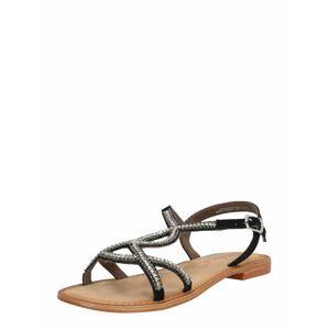 VERO MODA Sandály  černá
