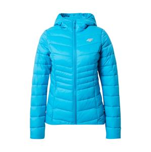 4F Sportovní bunda  svítivě modrá