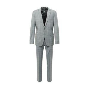 STRELLSON Oblek  šedá / bílá