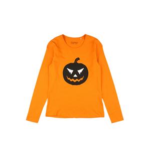 ESPRIT Tričko  oranžová / černá