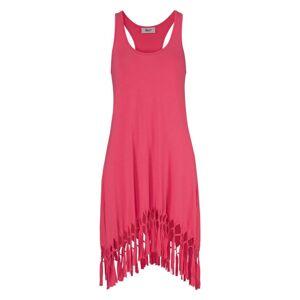 BEACH TIME Plážové šaty  korálová / tmavě růžová