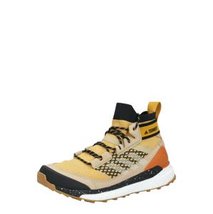 ADIDAS PERFORMANCE Kozačky 'TERREX Free Hiker'  tmavě žlutá / mix barev