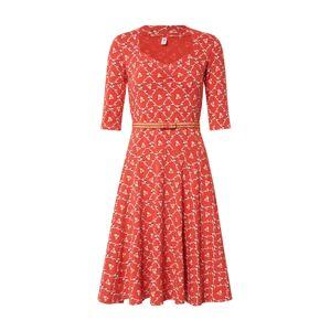 Blutsgeschwister Šaty  mix barev / světle červená