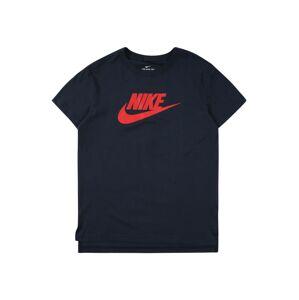Nike Sportswear Tričko 'Futura'  tmavě modrá / melounová