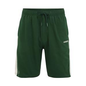 LACOSTE Kalhoty  bílá / zelená