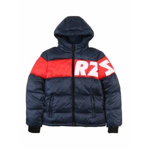 Raizzed Zimní bunda 'Tacoma'  tmavě modrá / bílá / červená