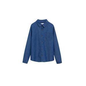 MANGO KIDS Košile 'Daniel'  modrá džínovina