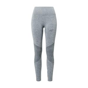 4F Sportovní spodní prádlo  šedý melír / šedá
