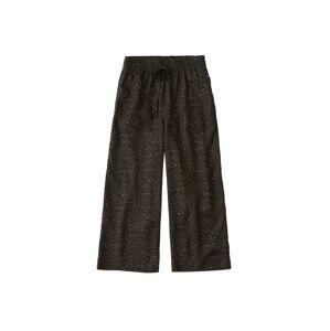 Abercrombie & Fitch Kalhoty 'SB19-NR CROP WIDE LEG'  hnědá / světle hnědá
