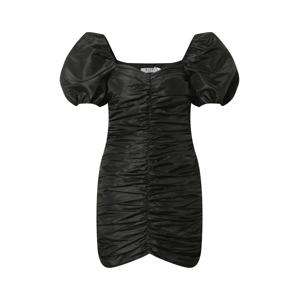 NA-KD Koktejlové šaty  černá